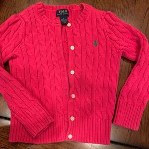 Size 5 pink girls sweater
